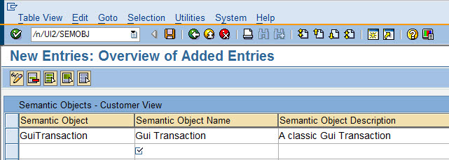 SAP Fiori Launchpad - call classic transactions with WebGUI